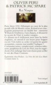 Verso de (AUT) Peru, Olivier -R03 Poch- Les Haut-Conteurs, tome 2 : Roi Vampire