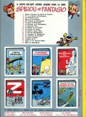 Verso de Spirou et Fantasio -5b68- Les voleurs du Marsupilami
