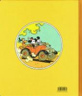 Verso de Mickey (collection Disney / Glénat) - Une mystérieuse mélodie, ou comment Mickey rencontra Minnie