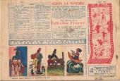 Verso de Alain la Foudre (Librairie moderne) -9- Un cassoulet bien gagné