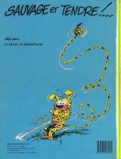 Verso de Marsupilami -2- Le bébé du bout du monde