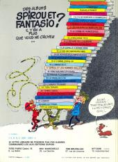 Verso de Spirou et Fantasio -2e82- Il y a un sorcier à Champignac