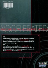 Verso de Accel World -5- Tome 5