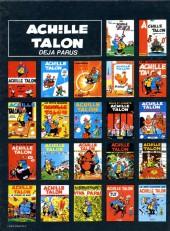 Verso de Achille Talon -19a79- Achille Talon et le grain de la folie