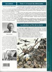 Verso de A l'assaut des démocraties -1- Le prix de la liberté