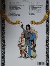 Verso de Thorgal -3c 00- Les trois Vieillards du Pays d'Aran