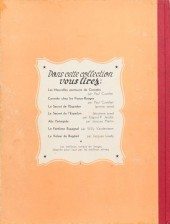 Verso de Corentin (Cuvelier) -1- Les extraordinaires aventures de Corentin