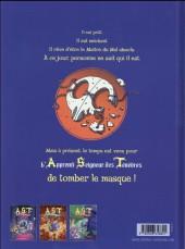 Verso de A.S.T. - L'Apprenti Seigneur des Ténèbres -3- Bas les masques !