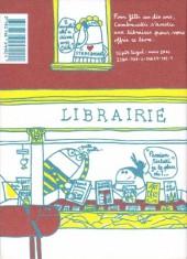 Verso de Lorsque -0- Lorsque je vais chez mon libraire ...