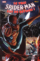 Verso de All-New Spider-Man -1- Partout dans le monde