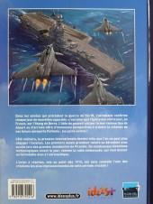 Verso de L'histoire de l'aéronautique -3- De terre, de ciel et de mer !