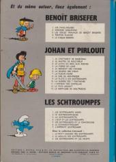 Verso de Les schtroumpfs -2b71- Le schtroumpfissime (et schtroumpfonie en ut)