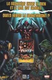 Verso de All-New X-Men (Marvel France 1re série - 2016) -3- Égratignures
