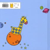 Verso de Achelle M, la girafe solitaire