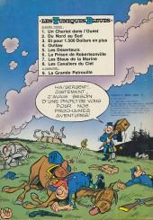 Verso de Les tuniques Bleues -8- Les cavaliers du ciel