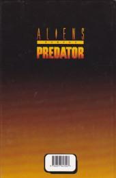 Verso de Aliens versus Predator -1- Une chasse à l'homme (1)