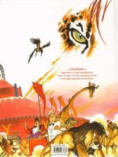Verso de Spirou et Fantasio (Une aventure de / Le Spirou de...) -10- La Lumière de Bornéo