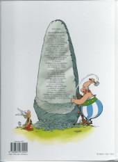 Verso de Astérix -25c13- Le Grand Fossé