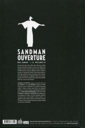 Verso de Sandman (Urban Comics) -0- Ouverture