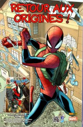 Verso de All-New Spider-Man -7- Signes célestes