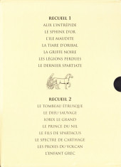 Verso de Alix -INT2Cof- Les Premières Aventures