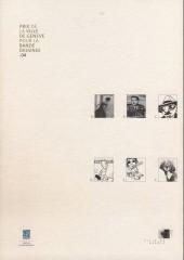 Verso de (Catalogue) Prix Töpffer de la ville de Genève -9- 2004