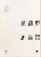 Verso de (Catalogue) Prix Töpffer de la ville de Genève -10- 2005