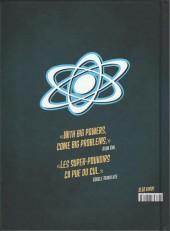Verso de ASH - L'Académie des Super-Héros - Tome INT