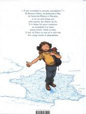 Verso de La france sur le pouce - La France sur le pouce