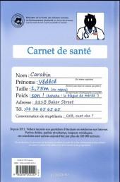 Verso de Vie de Carabin -HS- Dossiers Médic@ux