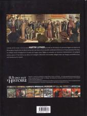 Verso de Ils ont fait l'Histoire -20- Luther