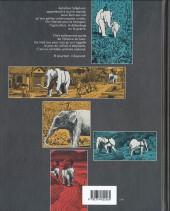 Verso de La longue Marche des éléphants - La Longue Marche des éléphants
