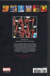 Verso de Marvel Comics - La collection (Hachette) -82XXXVIII- Daredevil - Meurtre sous Contrat