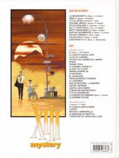 Verso de XIII Mystery -11- Jonathan Fly