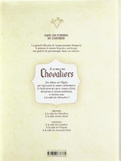 Verso de Dans les cuisines de l'Histoire -1- À la table des chevaliers