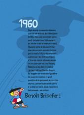 Verso de Benoît Brisefer -INT1- Intégrale 1