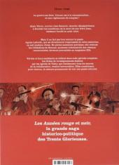 Verso de Les années rouge & noir -2- Alain