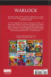 Verso de Marvel Comics : Le meilleur des Super-Héros - La collection (Hachette) -33- Warlock