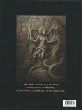 Verso de Les chevaliers d'Héliopolis -1- Nigredo, l'œuvre au noir