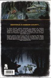 Verso de Harrow County -3- Charmeuse de serpents
