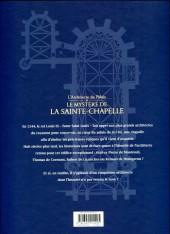 Verso de L'architecte du palais -1- Le mystère de la sainte-chapelle