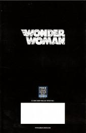 Verso de Free Comic Book Day 2017 (France) - Wonder woman année un