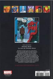 Verso de Marvel Comics - La collection (Hachette) -85III- Amazing Spider-Man - La Fin de Spider-Man