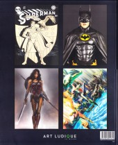Verso de (Catalogues) Expositions - Exposition L'Art de DC - L'Aube des super-héros