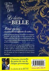 Verso de La belle et la Bête (Disney manga) - Le destin de Belle