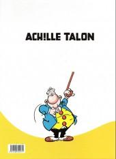 Verso de Achille Talon -10d15- Le roi de la science-diction