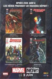 Verso de All-New Avengers -13- Fallait pas le faire