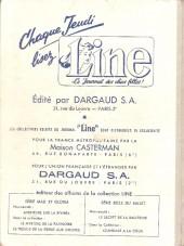 Verso de Line (Le journal des chics filles) -Rec22- Recueil N°22 (du n°298 au n°310)