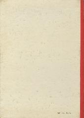 Verso de Alex et Eurêka -2- Le trompettiste du Strasbourg-Paris