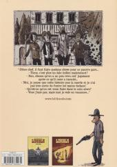 Verso de Lincoln -2- Indian tonic